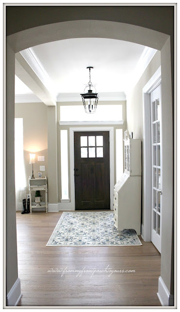 Farmhouse Foyer- From My Front Porch To Yours
