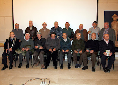 Parte de los entrevistados en el proyecto de la memoria oral de la Minería.