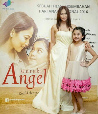 Review Film UNTUK ANGELINE, Hujan Pun Turun Mengiringi Kepergian Gadis Cilik Berhati Malaikat