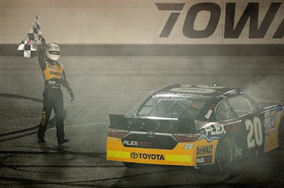 Erik Jones the Sunoco Rookie of the Year in the NASCAR Xfinity Series