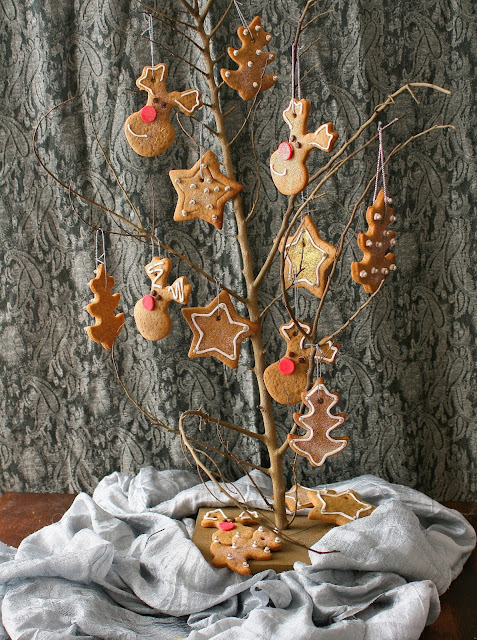 Christmas ginger cookies.
