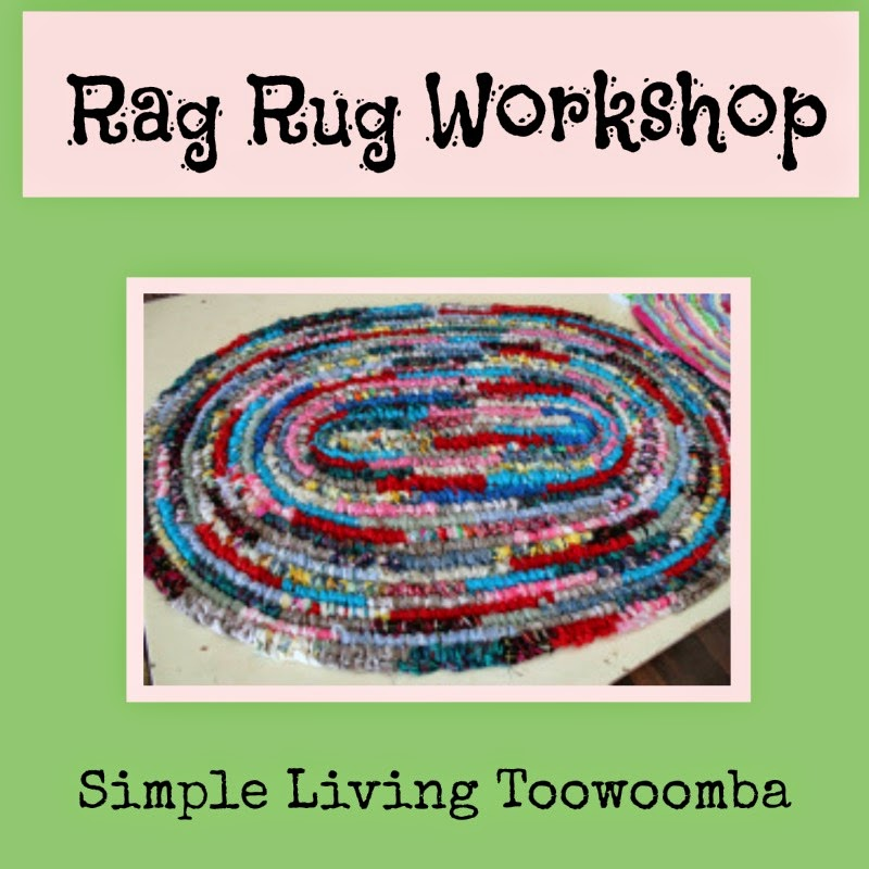 Going Grey And Slightly Green: Rag Rug Workshop