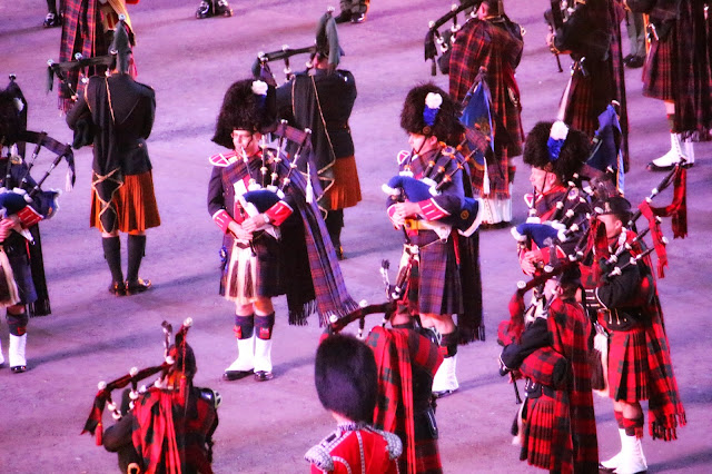 Edinburgh Tattoo Bands