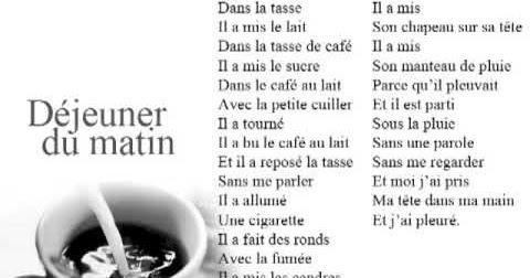 Blog De Français Déjeuner Du Matin