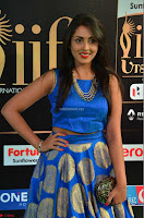 Madhu Shalini Looks Super Cute Slim trim Blue Choli Ghagra IIFA Utsavam Awards 08.JPG