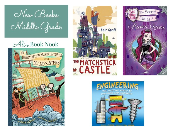 Newly Published books for middle grade readers