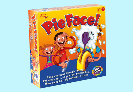 great cool kids gift, pie-face, best gift for kids