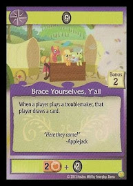 My Little Pony Brace Yourselves, Y'all GenCon CCG Card
