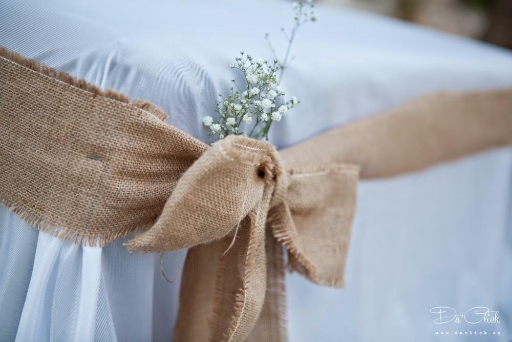 decoracion silla boda