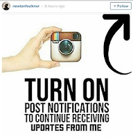 Getting users to turn on notification for Effective Instagram Marketing
