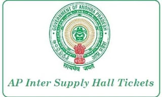 AP Inter Supply Hall Tickets 2021