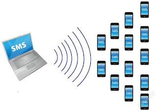 Tömeges SMS küldés számítógépről mobiltelefonra