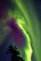 Aurora over Whitehorse