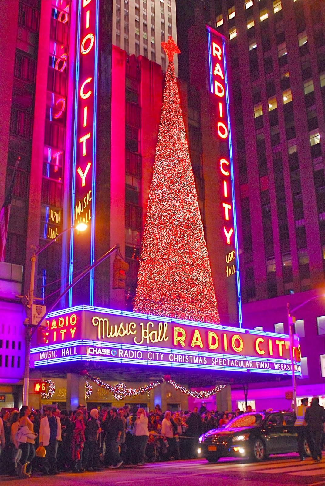 Nyc Nyc Radio City Music Hall Christmas