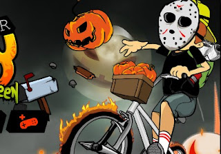 Newspaper Boy Halloween Action Online Game