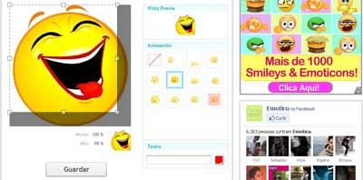 Emoticions Personalizados