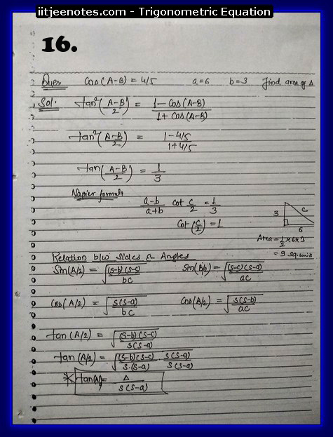 Trigonometric Equation images6