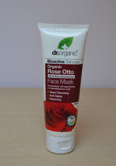 Review: dr.organic Rose Otto Face Mask