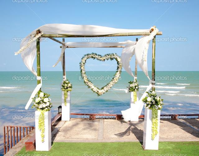 Arco para civil  Foro Ceremonia Nupcial  bodascommx