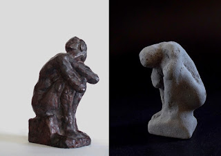 edith_lafay_sculpture_femme assise_accroupie