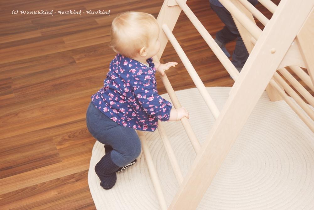 Kletterdreieck Gross : Wunschkind herzkind nervkind das kletterdreieck ein