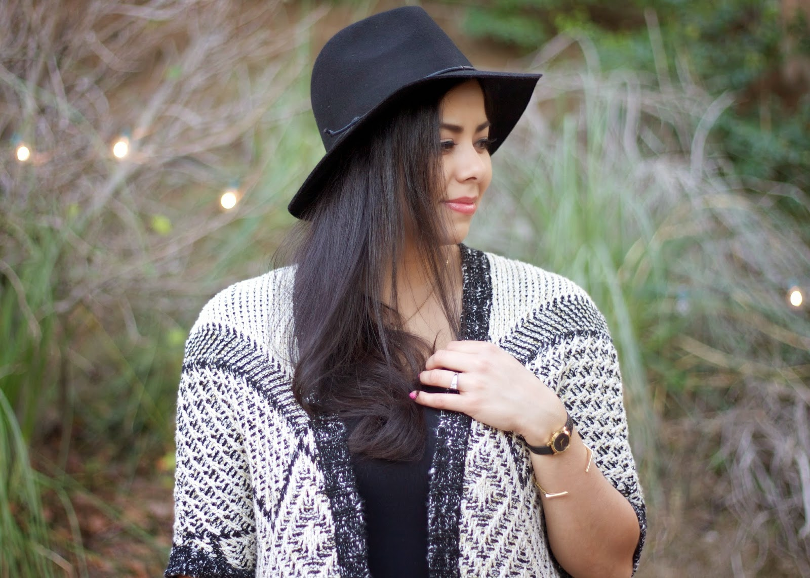 how to wear a felt fedora hat, sweater outfit 2015, isabel marant alike outfit