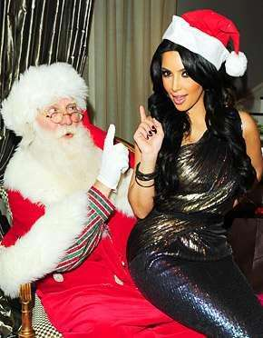Top 10 Hottest Celebs Sitting On Santa's Lap