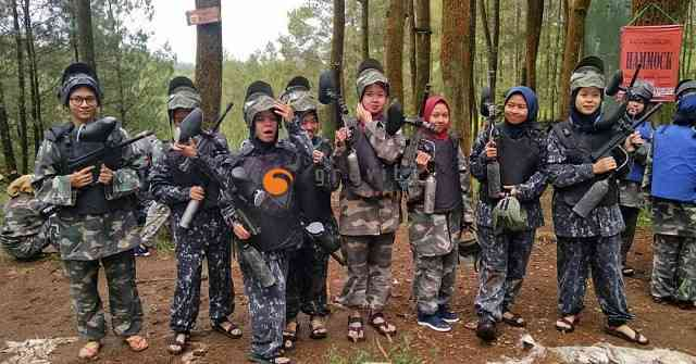 Paintball Bandung Cikole Gravity Adventure