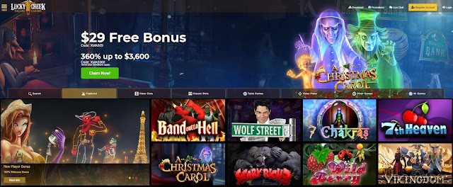 Casino Bonus Usa Lucky Creek Casino Welcome And Daily Bonus Codes