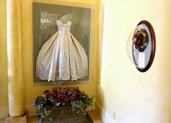 enmarcar vestido de boda antiguo