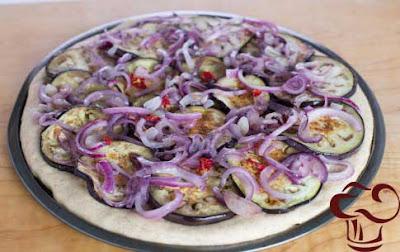 Pizza Blanca receta parte 3