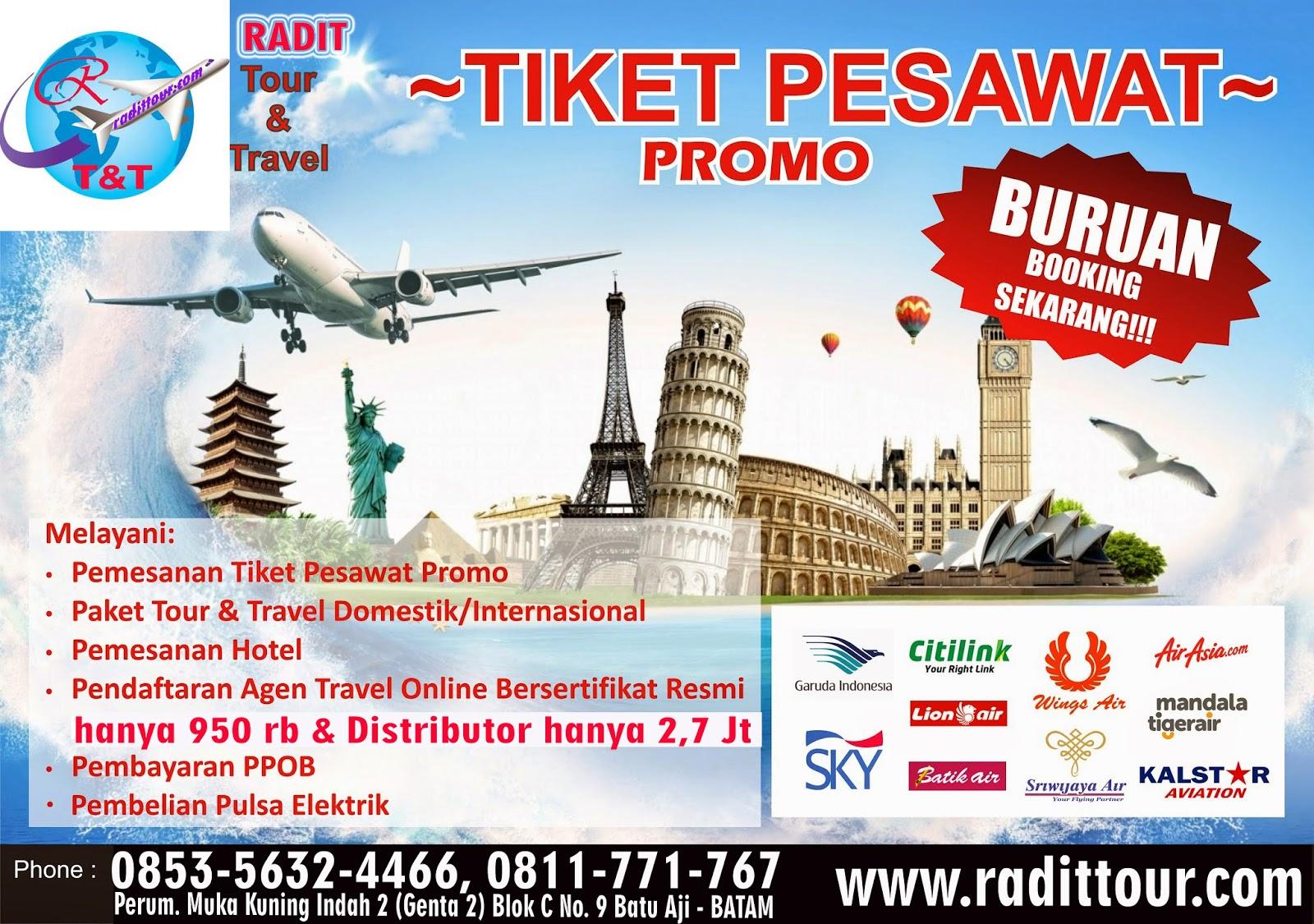 Radit Tour Dan Travel Batam