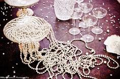 Resultado de imagen para perlas en la mesa