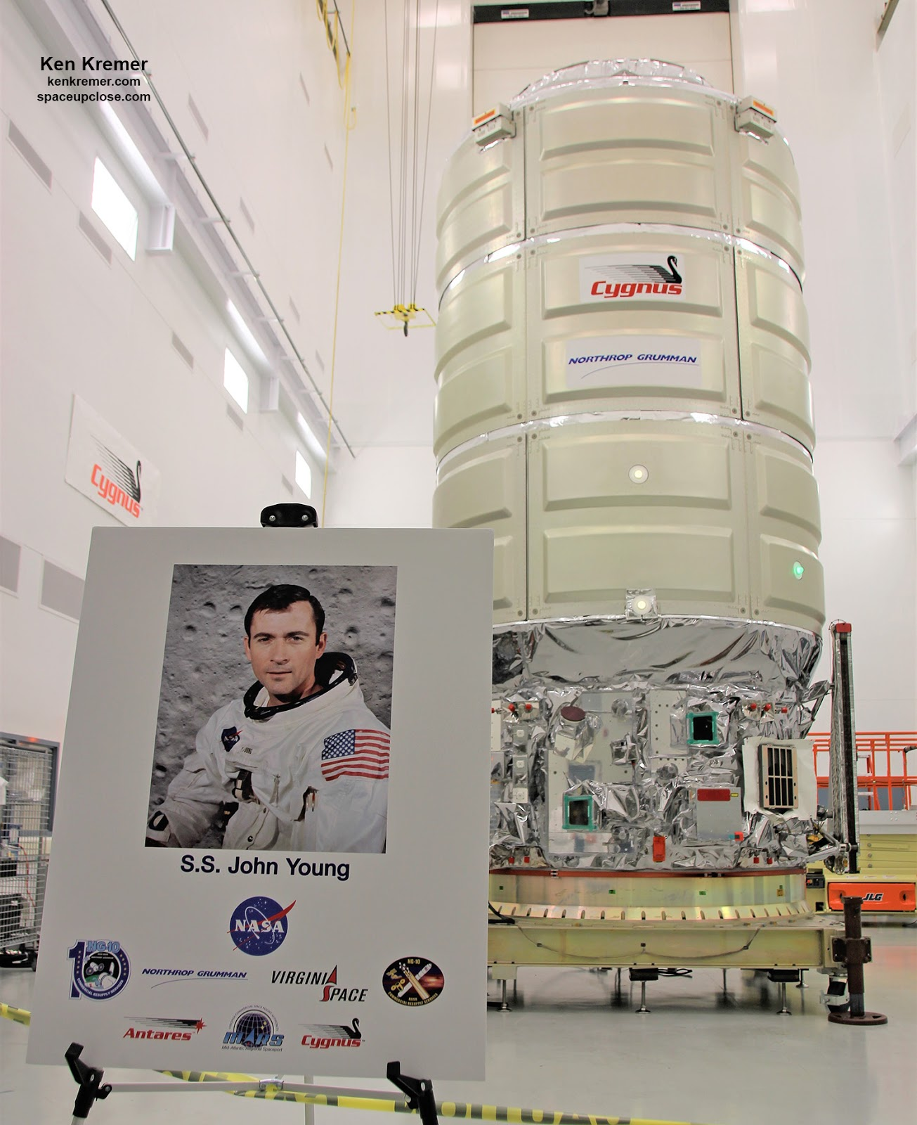 space upclose northrop grumman names space station bound cygnus rh kenkremer blogspot com