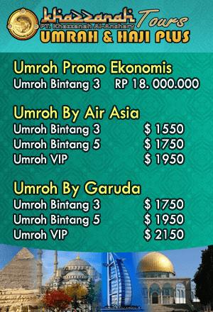 Paket Umroh Promo Khazzanah Tour Travel Umroh Jakarta