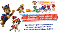Logo Paw Patrol: vinci 500 premi e 10 camerette per bambini + buoni sconto sicuri cumulabili