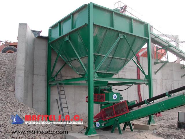 Fabricacion de tolvas industriales balanzas