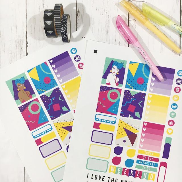 Planner Stickers for Cricut Explore