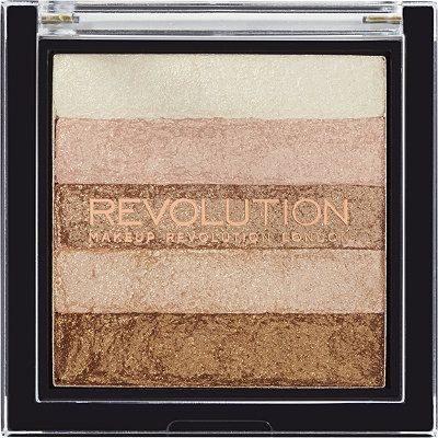 Makeup Revolution Vivid Shimmer Brick | Best Powder Highlighters