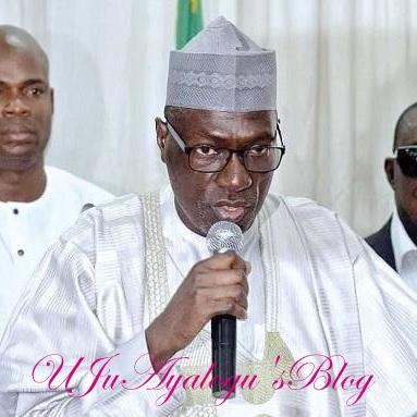PDP National Chairman, Senator Makarfi Involved In An Accident Along Abuja-Kaduna Highway