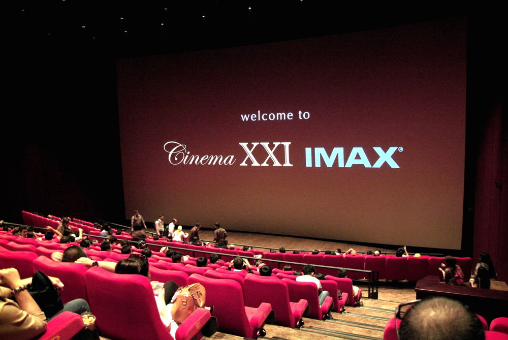 Ngegeret_Koper: Cinema XXI dengan IMAXnya atau Dolby