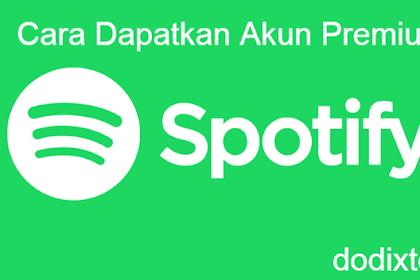 Akun Spotify Premium Gratis Selamanya 2018