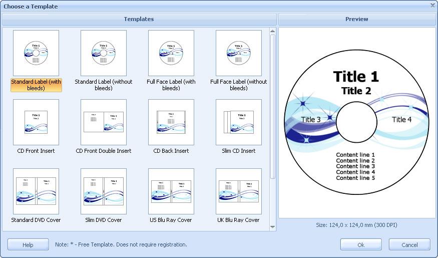 Creatore di Etichette CD DVD - RonyaSoft CD DVD Label Maker