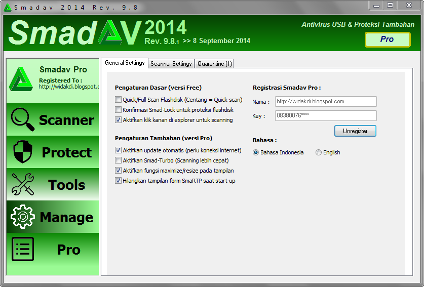 SmadAV 9.9.1 Latest Full Version With Serial Key Free Download
