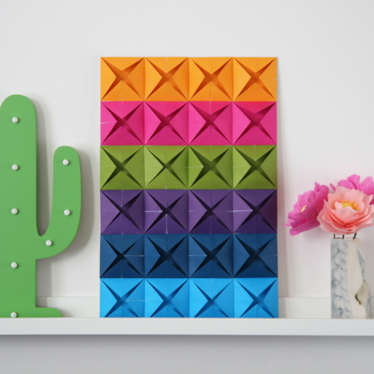 EASY ORIGAMI WALL ART
