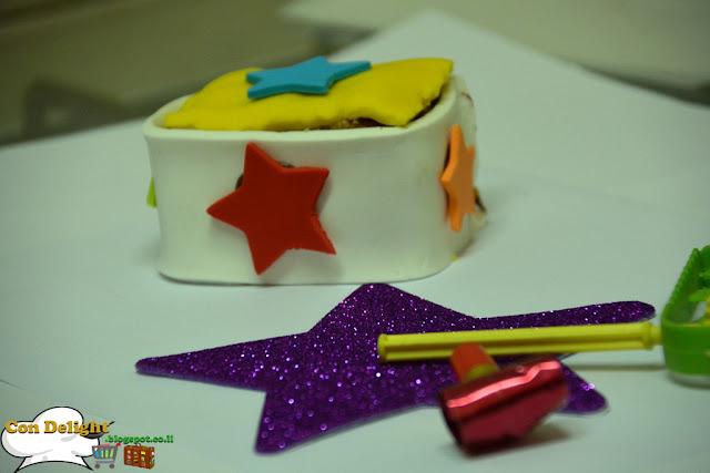 surprise fondant cake