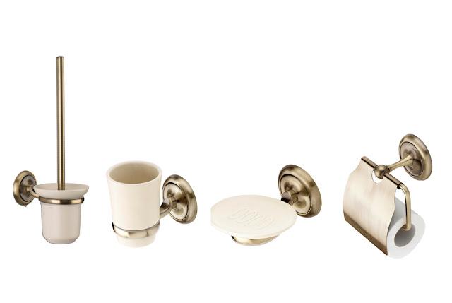 accesorii retro pentru baie