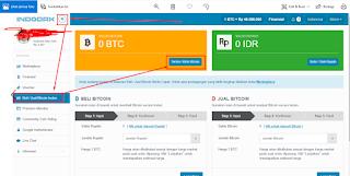 Cara Melihat Alamat Wallet BTC Di Akun Indodax Kita
