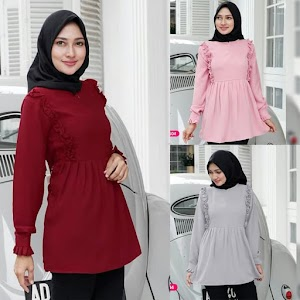 Baju Blouse Muslim OP101