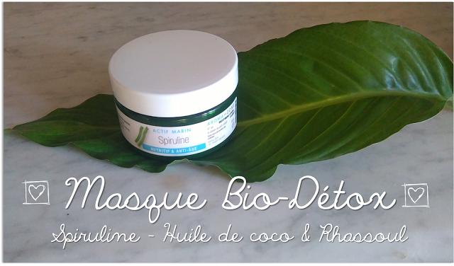 Bbeauty - diy -Masque Bio Detox - Spiruline -Huile de coco - Rhassoul